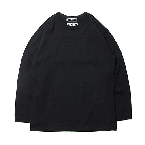 "KIIT C/N Plating Stich Long Sleeve Tee ""Black&White"""