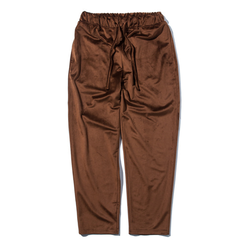 "STAND OUT STORE Velvet Jersey Pants ""Brown"""