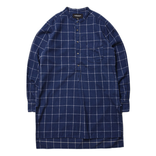 "East Logue Tunic Shirt ""Navy Flannel"""