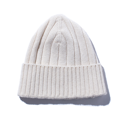 "STAND OUT STORE Knit Cap ""Ivory"""