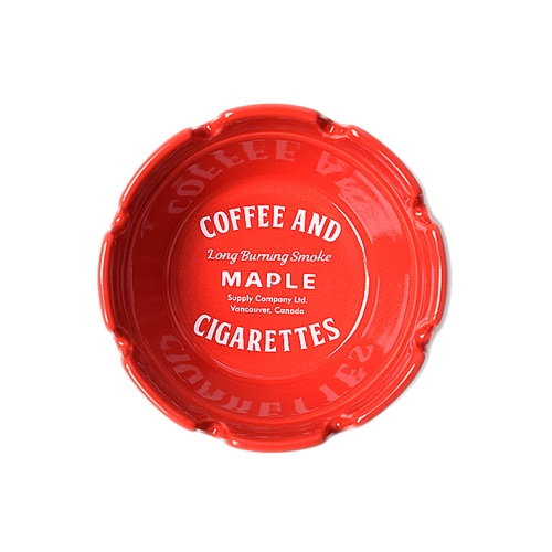 "MAPLE x HASAMI Block Ashtray ""Red"""