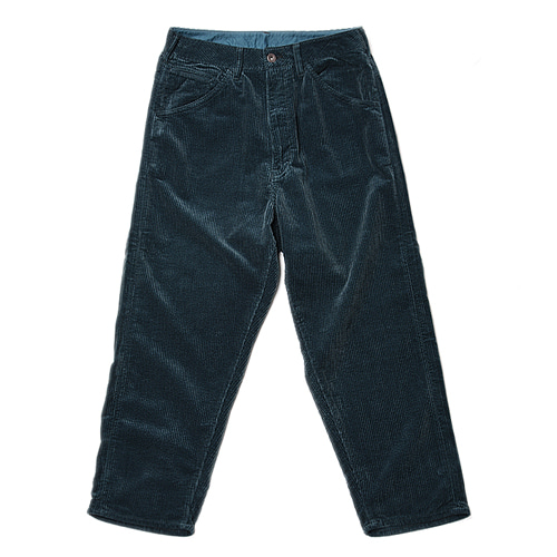 "BUKHT Big Corduroy Pants ""Dark Green"""