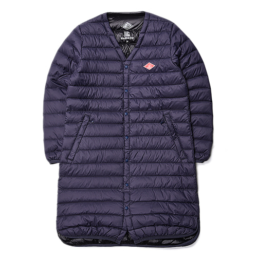 "DANTON #JD-8829 Women's Down Long Jacket ""Navy"""