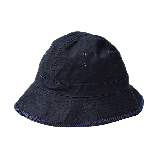 "Infielder Design Backsatin Mil Hat ""Navy"""