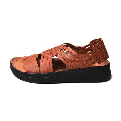 "Malibu Sandals (Women's / Men's) CANYON Classic ""Whiskey&Black"""