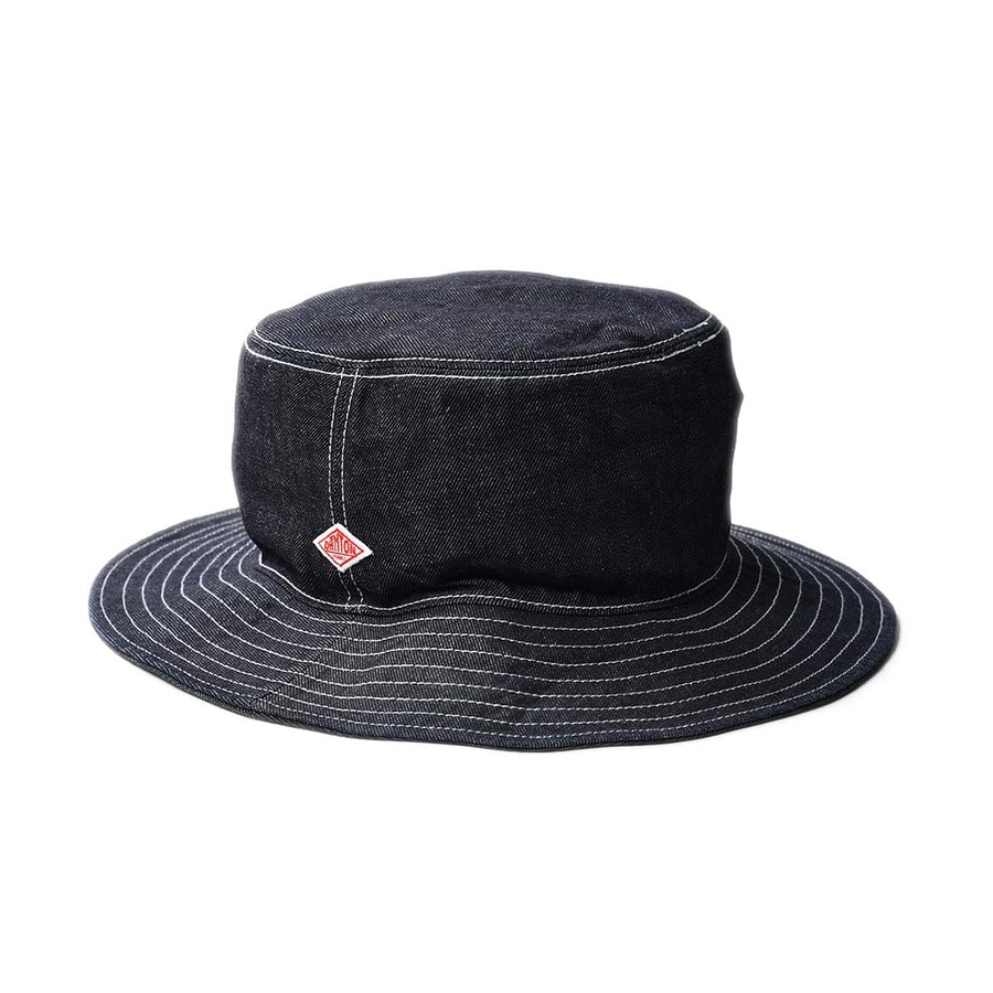 "DANTON #JD-7124 Cotton Twill Hat ""Indigo"""