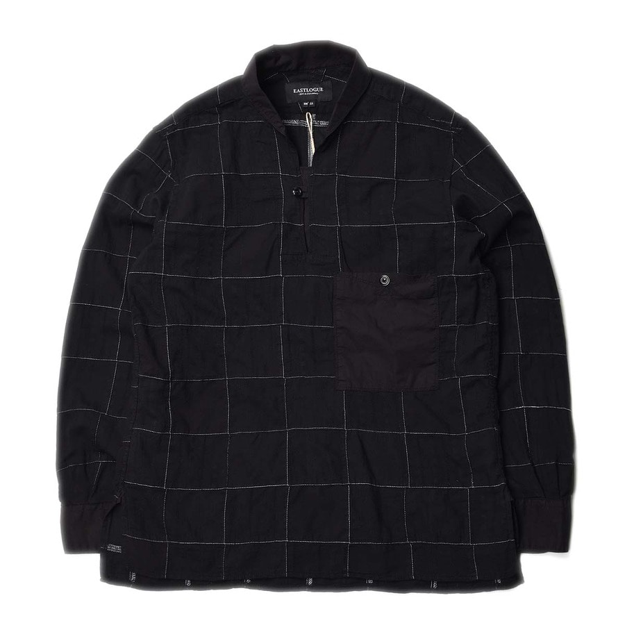 "East Logue Sailor Shirts ""Black Madras"""