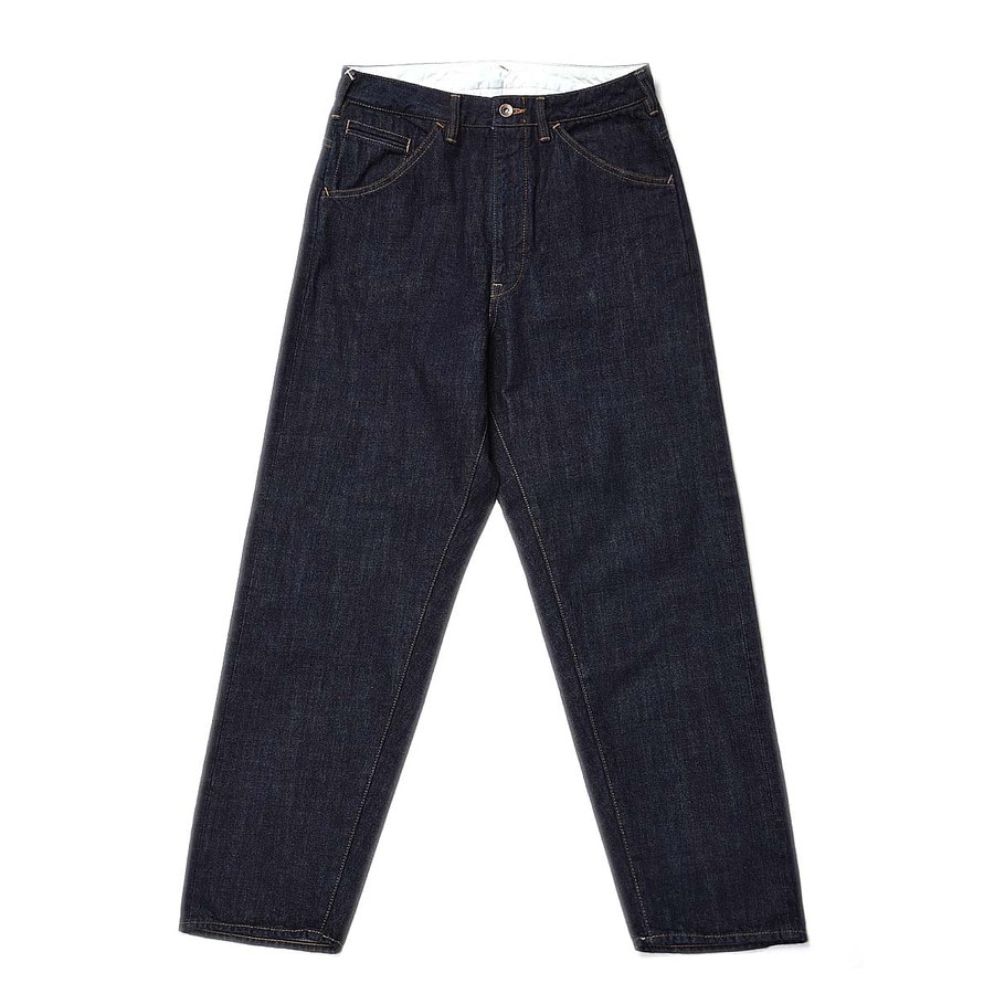 "BUKHT Big Denim Pants Long 12.5oz Selvage Denim ""One Wash"""