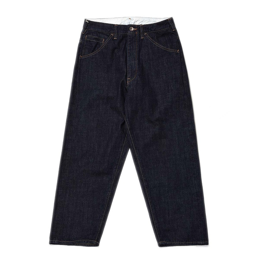 "BUKHT Big Denim Pants Short 12.5oz Selvage Denim ""One Wash"""