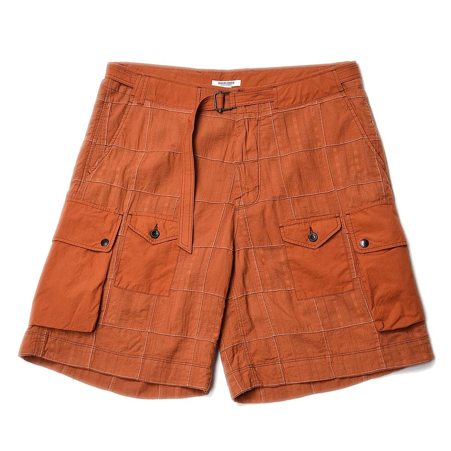 "EASTLOGUE Para Shorts ""Ocher Madras"""