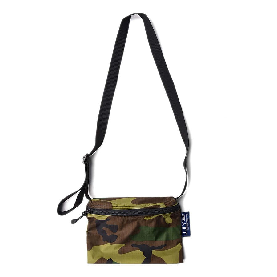 "July Nine Burnside Bag 9"" ""Camo"""