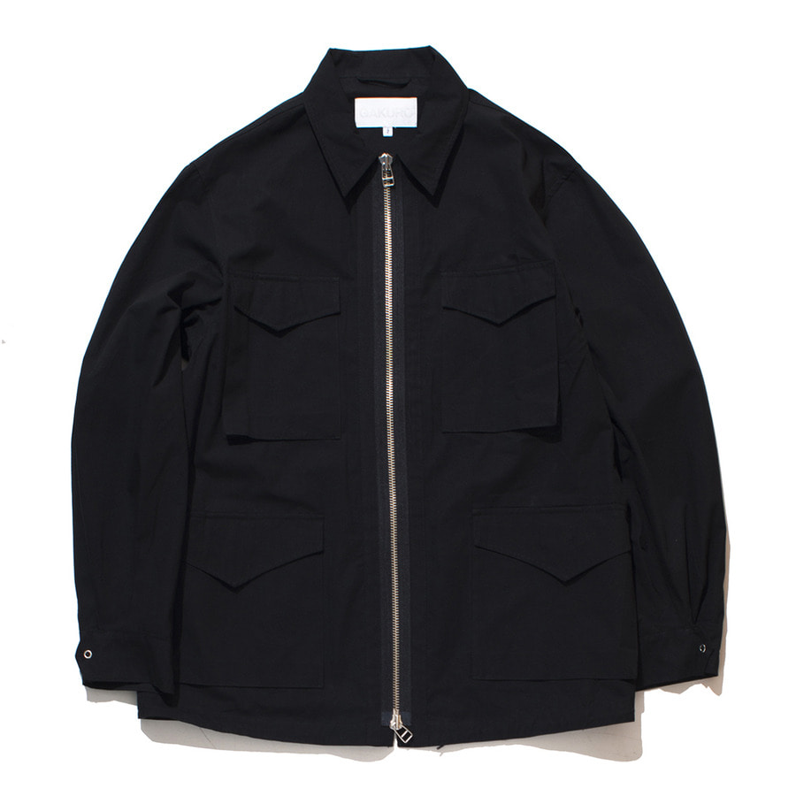 "GAKURO Field Jacket ""Black"""