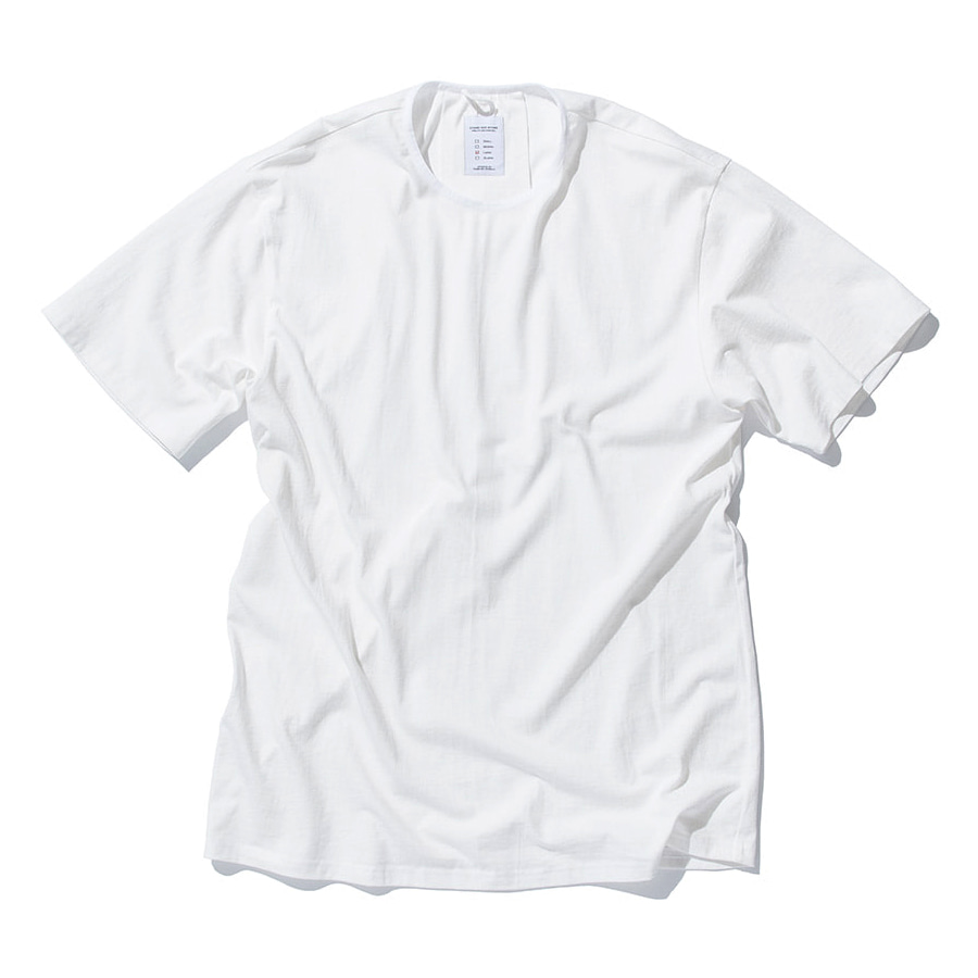 "STAND OUT STORE Rib H/S (T4) ""White"""