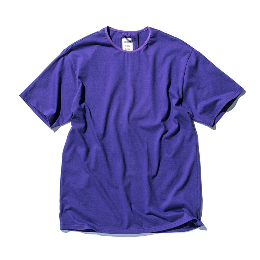 "STAND OUT STORE Rib H/S (T4) ""Purple"""