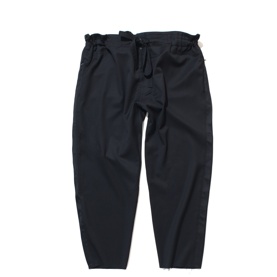 "(RESTOCK) GAKURO Tapered Wrap Pants ""Black"""