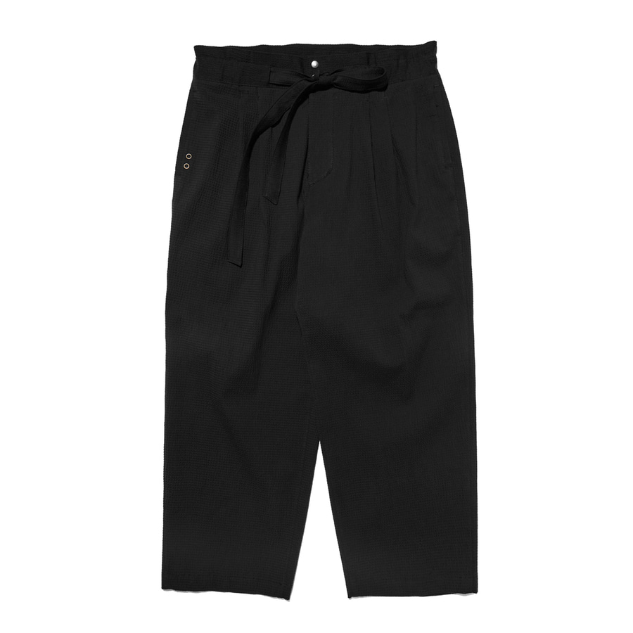 "Qlad Museum Relaxed Easy Pants ""Black"""
