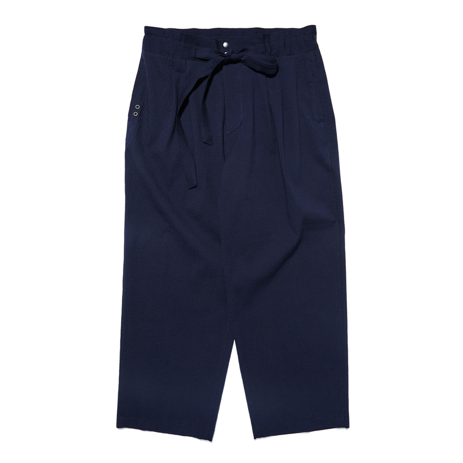 "Qlad Museum Relaxed Easy Pants ""Navy"""