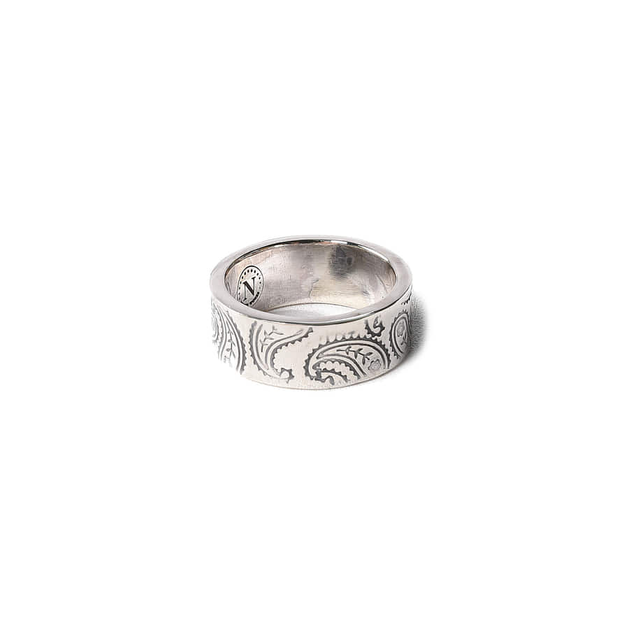 North Works 900.Silver Stamp Ring W-321D