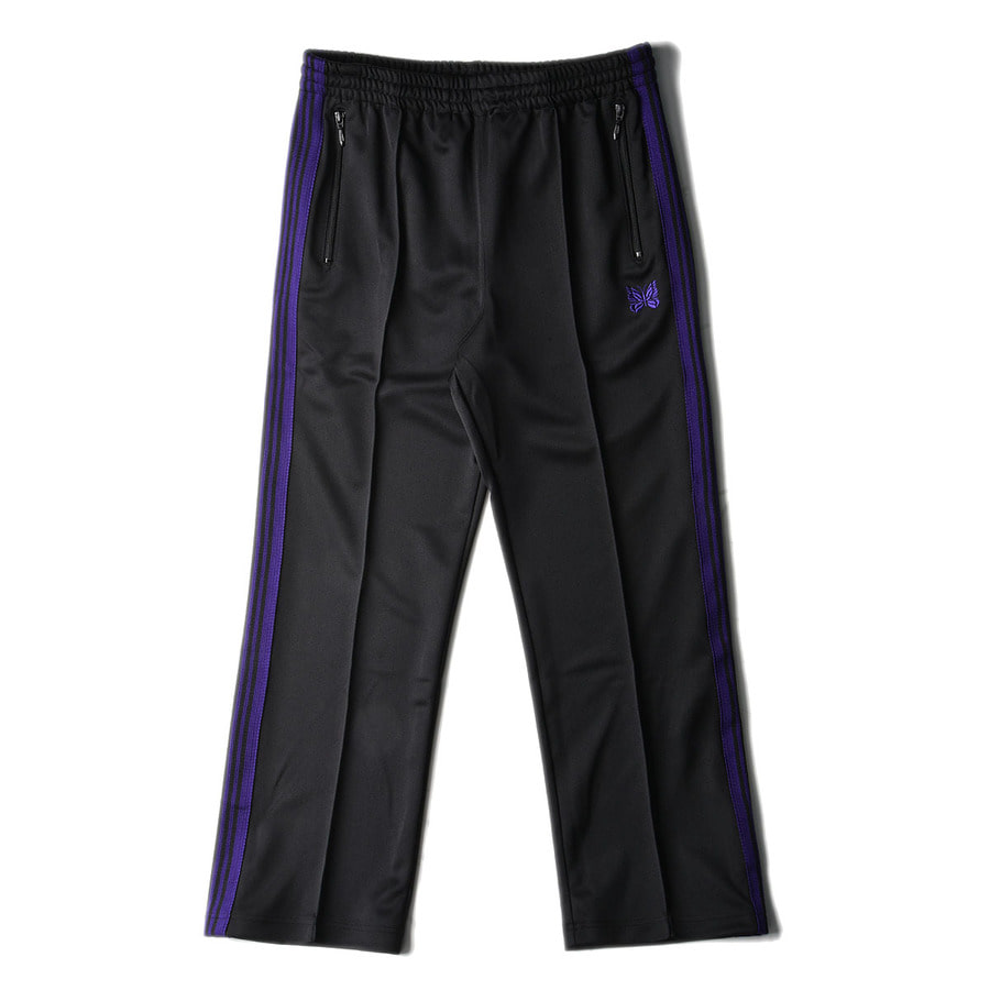 "NEEDLES Track Pant Poly Smooth ""Black"""