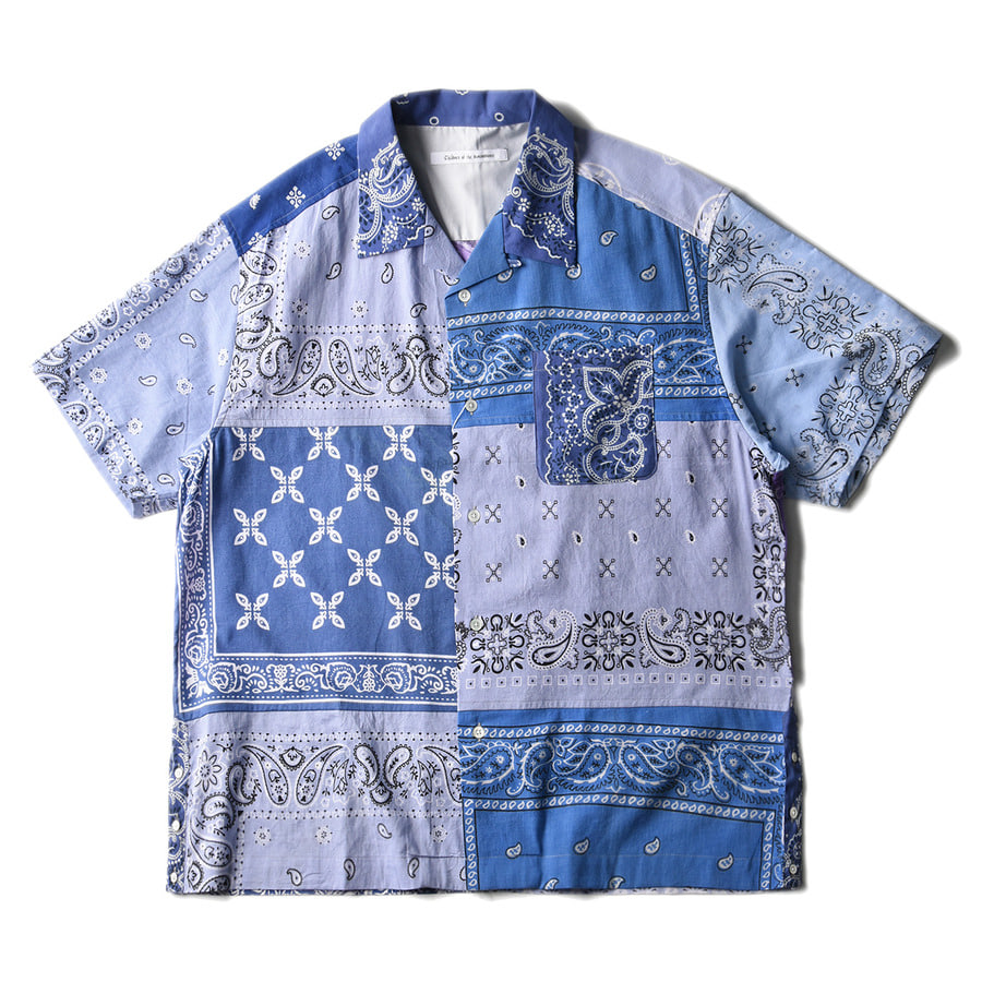 "CHILDREN OF THE DISCORDANCE Vintage Bandana Patch Shirt ""Sax"""