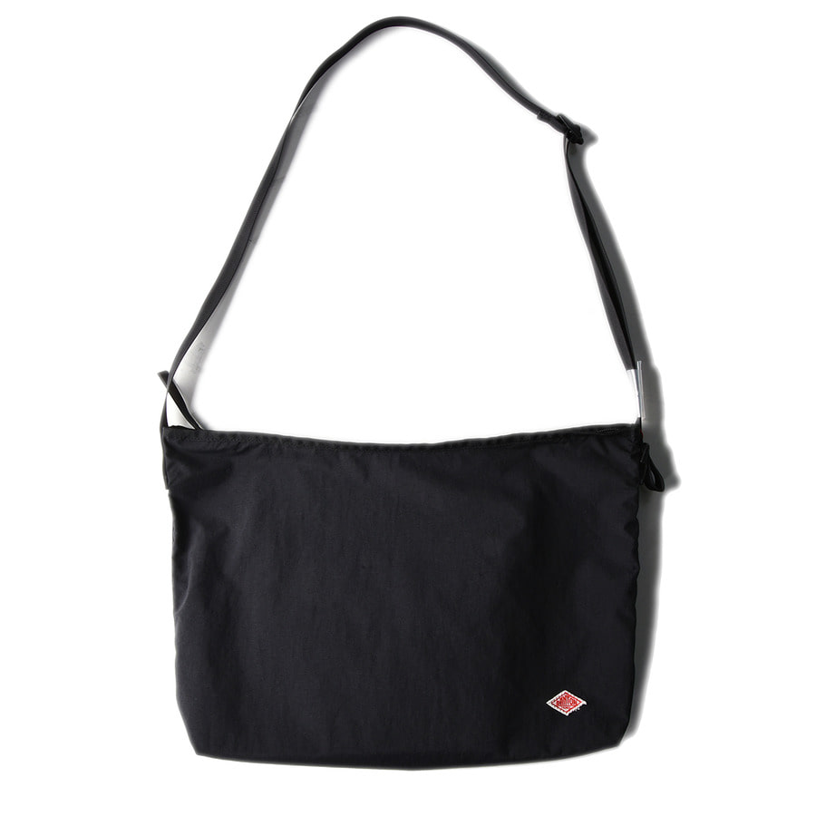 "DANTON #JD-7162 Nylon Taffeta Utility Bag ""Black"""
