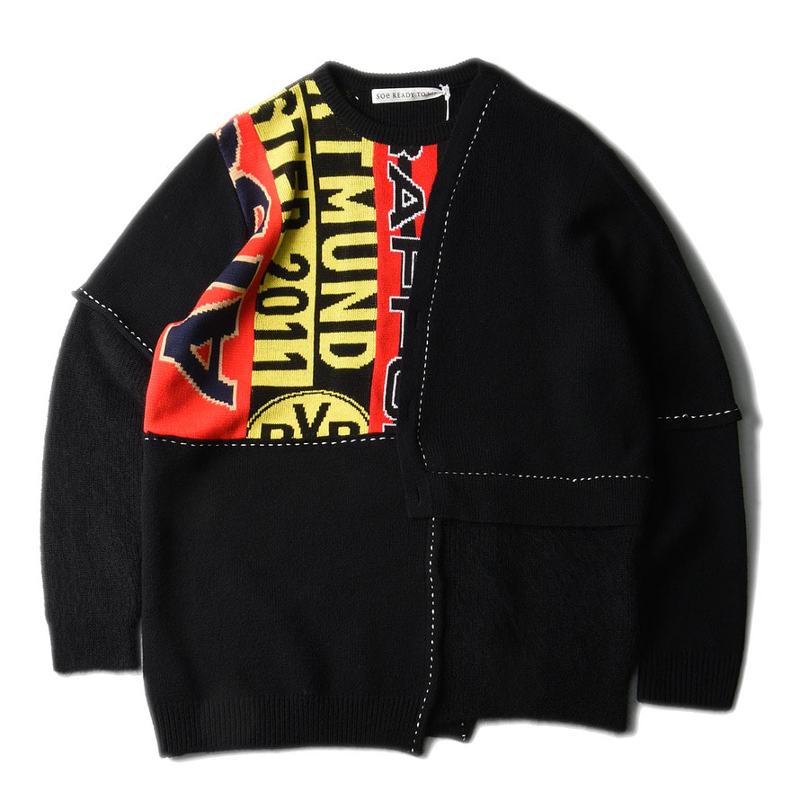 "SOE Layered Sweater ""Black"""
