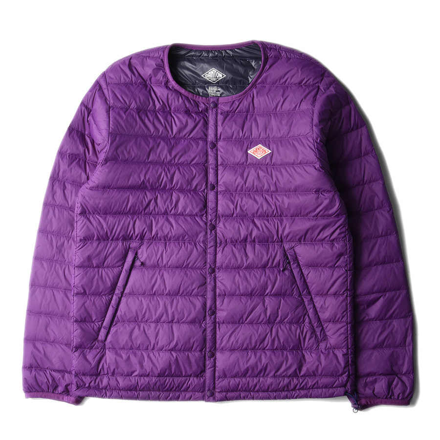 "DANTON #JD-8751 Nylon Taffeta Down Jacket ""Purple"""
