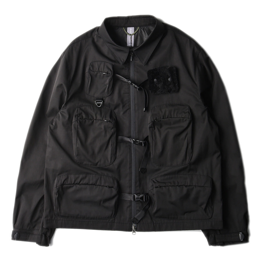 "UNAFFECTED Utility Fisherman Jumper ""Black"""