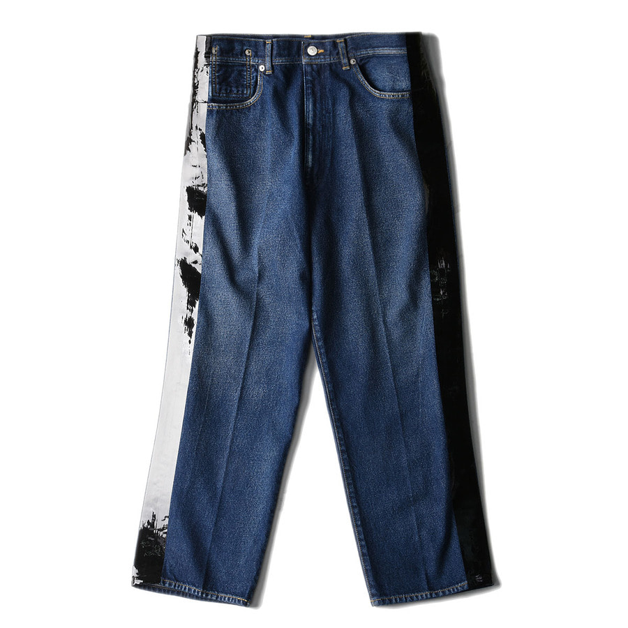 "SOE Side-Taped Denim Trouseres ""Indigo"""