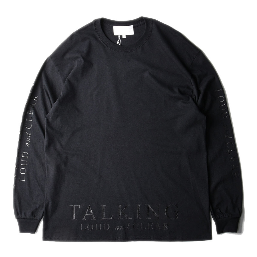 "GAKURO 'TALKING LOUD & CLEAR' T-Shirt ""Black"""