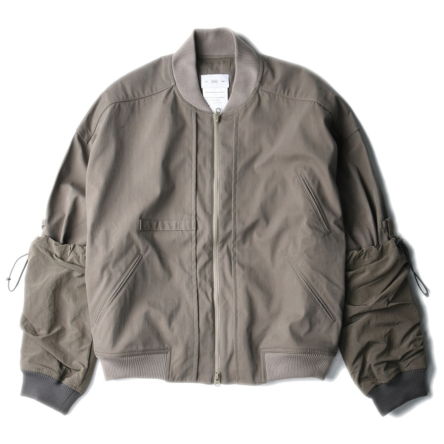 "(RESTOCK)                                                                 POST ARCHIVE FACTION Arm Covered Blouson ""Warm Grey"""
