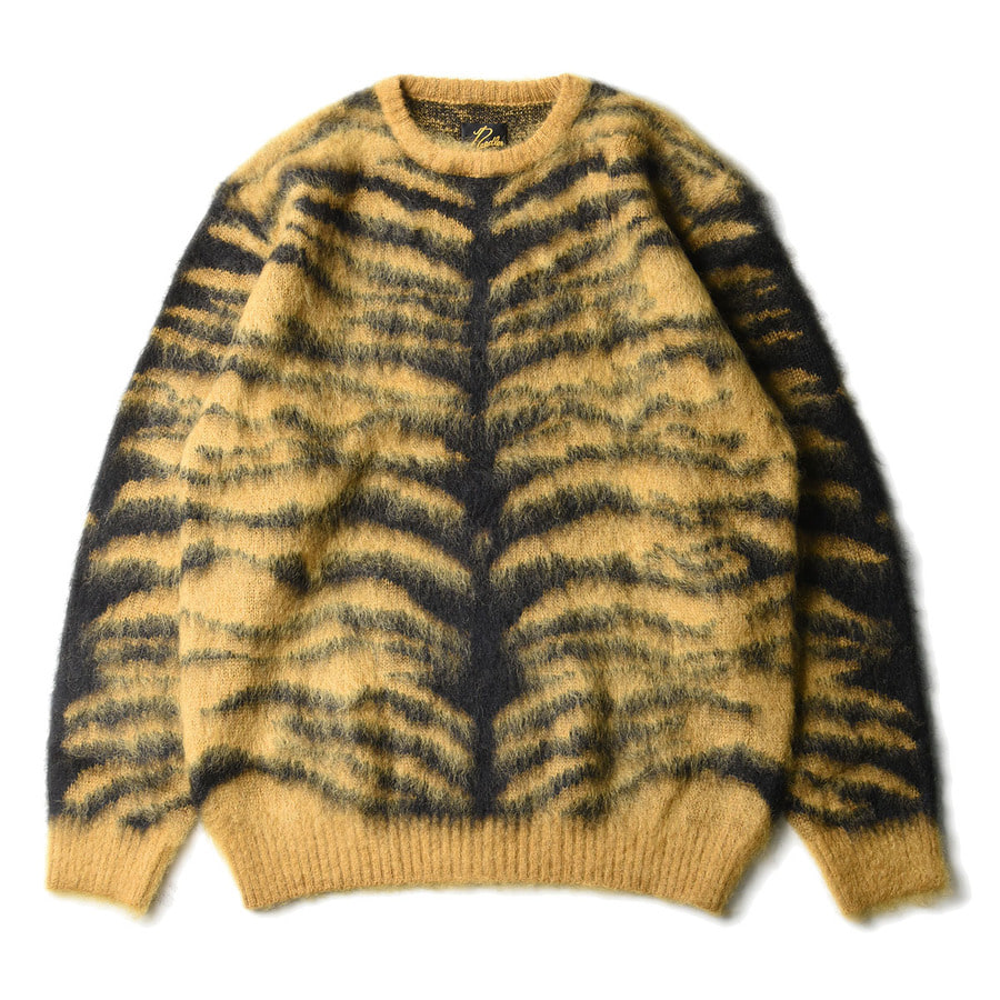 "NEEDLES Mohair Sweater Tiger ""Gold"""