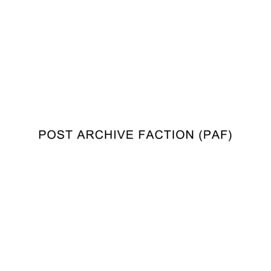 POST ARCHIVE FACTION