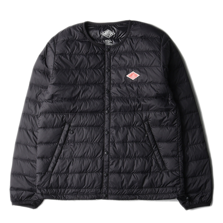 "DANTON #JD-8751 Nylon Taffeta Down Jacket ""Black"""