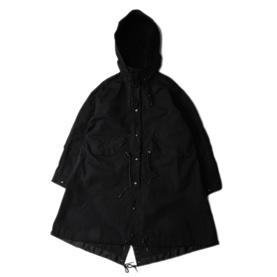 "BROWNYARD Essential Parka ""Black"""