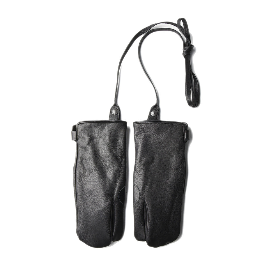 "EASTLOGUE Rifle Leather Gloves ""Black"""