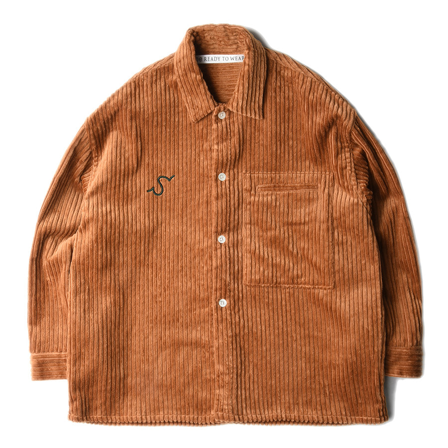 "SOE Corduroy Shirt Jacket ""Brown"""