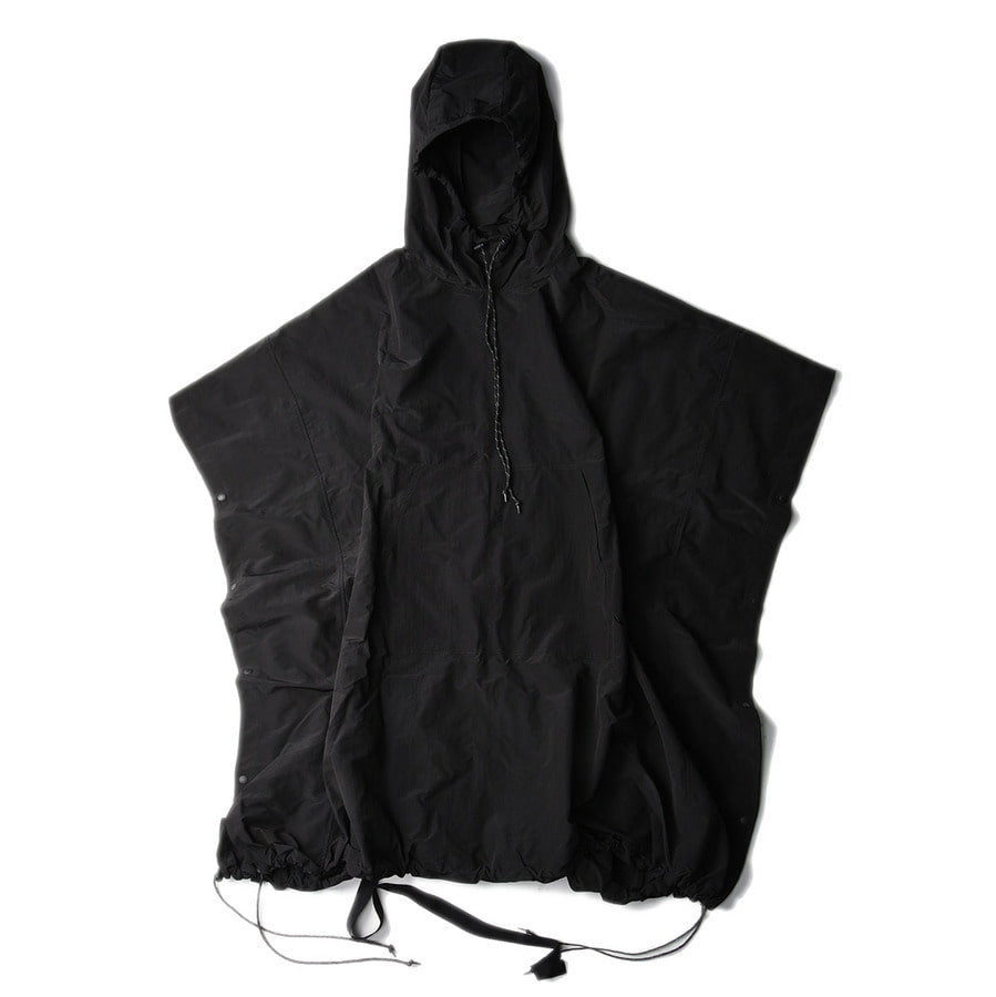 "POST ARCHIVE FACTION Poncho ""Black"""
