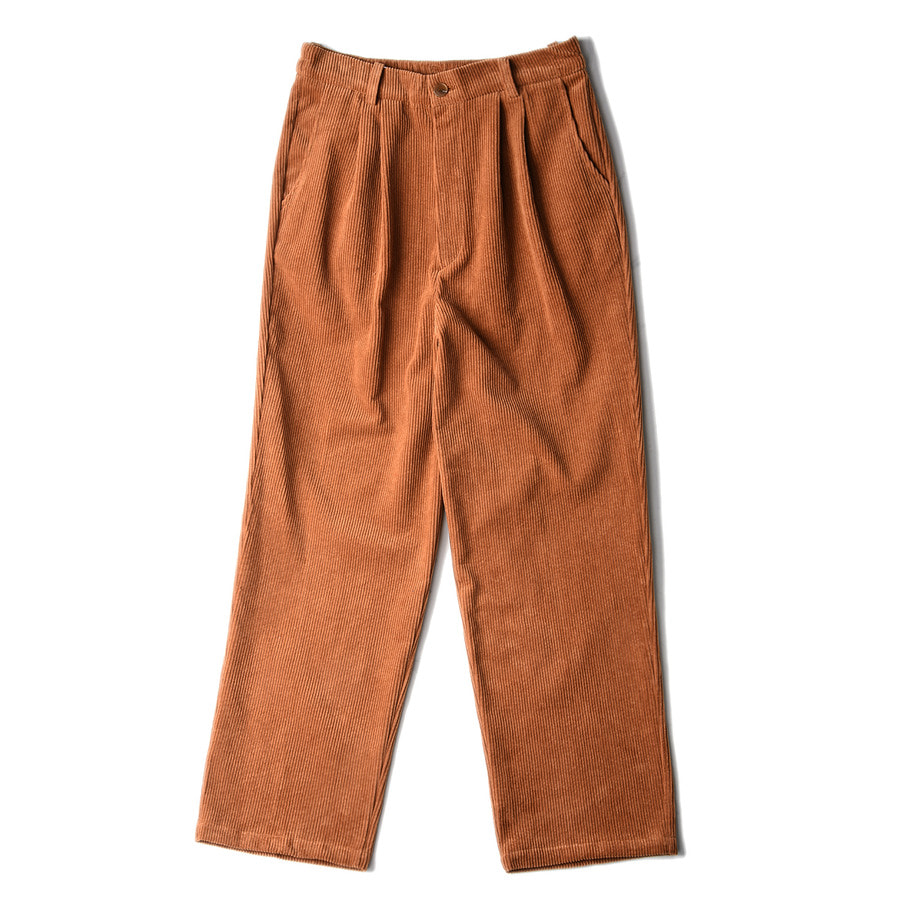 "CONICHIWA bonjour Corduroy Pants ""Brown"""