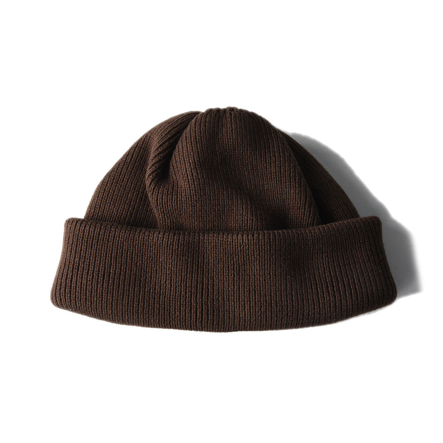 "CREPUSCULE Knit Cap2 ""Brown"""