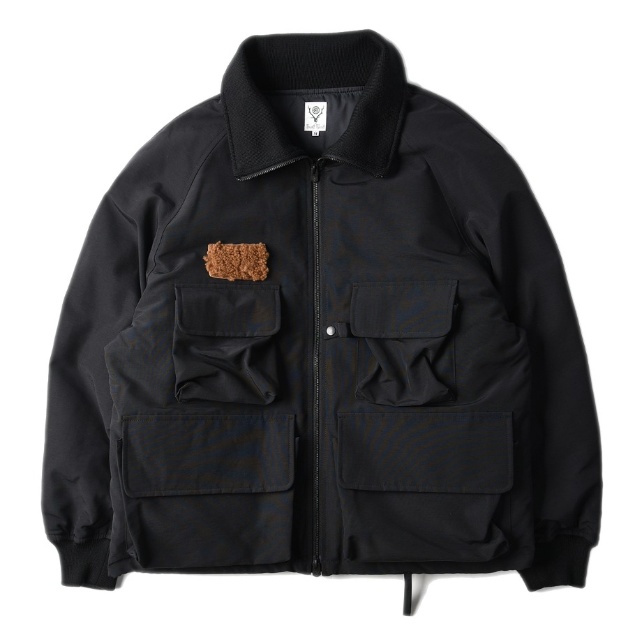 "SOUTH2 WEST8 S.C. River Trek Down Jacket ""Black"""