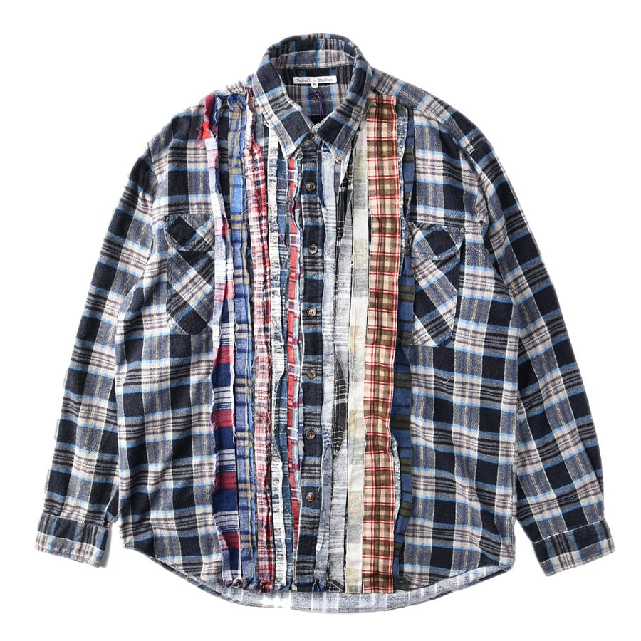 "NEEDLES Rebuild by Needles Flannel Shirt M size ""A"""