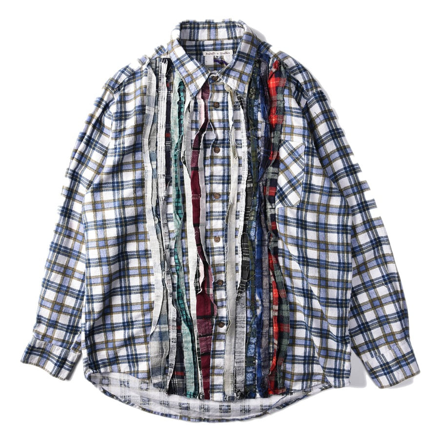 "NEEDLES Rebuild by Needles Flannel Shirt M size ""E"""