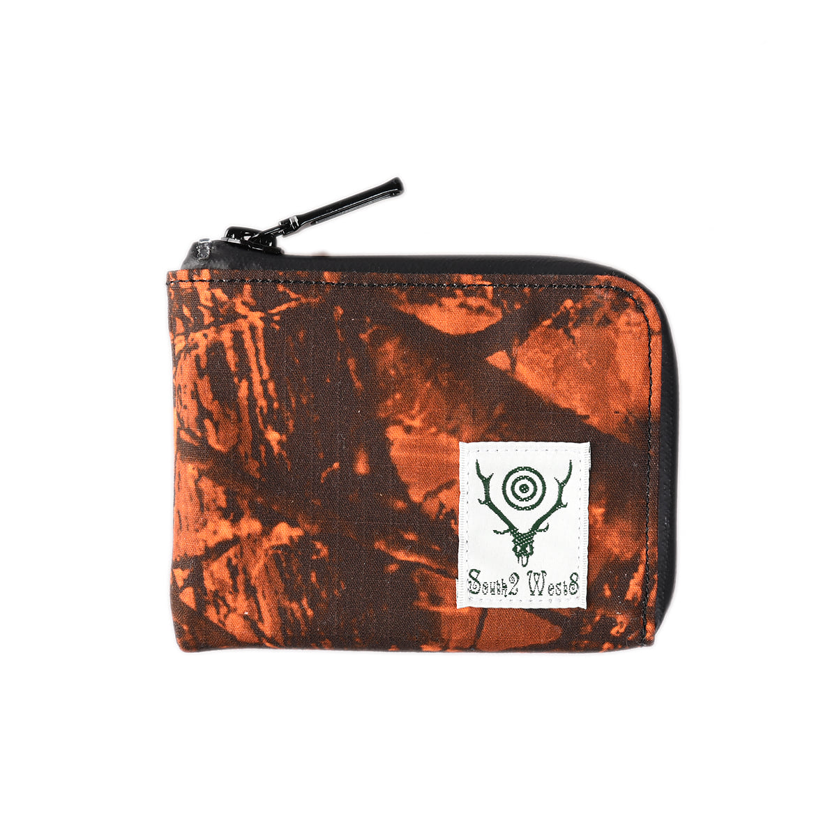 "SOUTH2 WEST8 Coin Case Water Proof ""S2W8 Orange Camo"""