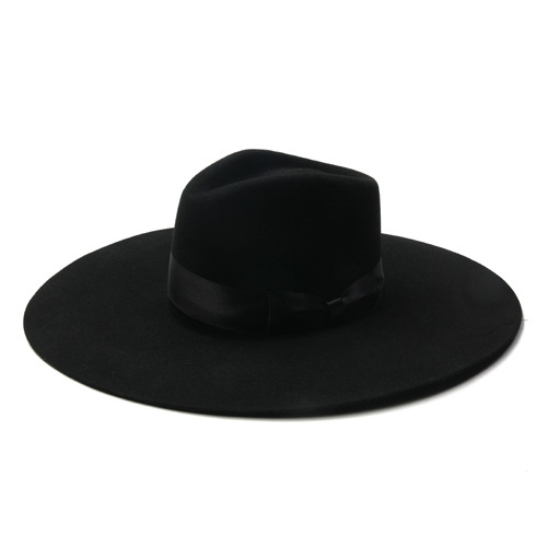 "Brixton - Limited Collection RUSSO Ltd. Fedora ""Black"""