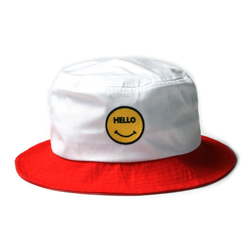 "Infielder Design C-33 Smile Hat ""Red"""