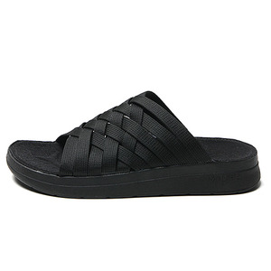"[RE-STOCK] Malibu Sandals (Women's / Men's) ZUMA Nylon / PU Suede  ""Black/Black"""