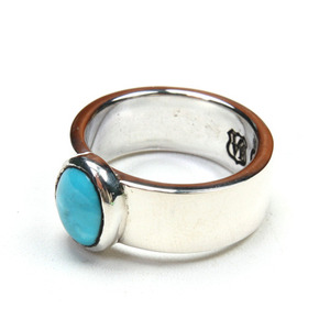 North Works 900Silver TURQUOISE Ring