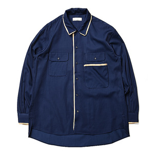 "RDV O GLOBE George Shirts ""Navy"""