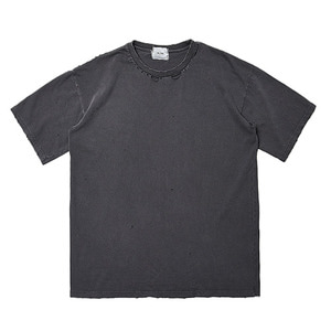 "Blev Route Damage T-Shirt 'With H' ""Black"""
